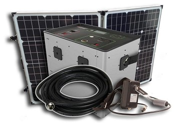 Humless 1500 Portable Power Fuelless Generator - 1.3kWh - Bundle with 2 Solar Panels - FREE SHIPPING